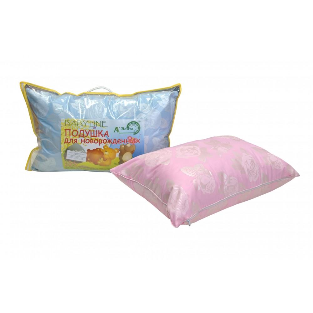 Подушка для новорожденных Babyline пуховая 40x60 (лебяжий пух)