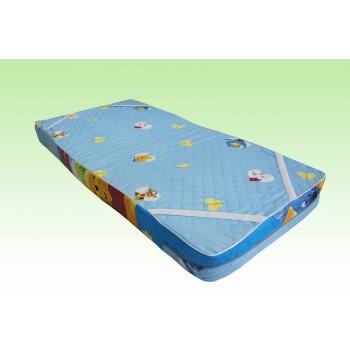 Матрас детский поролоновый борт 10 см 60x120, 60x140