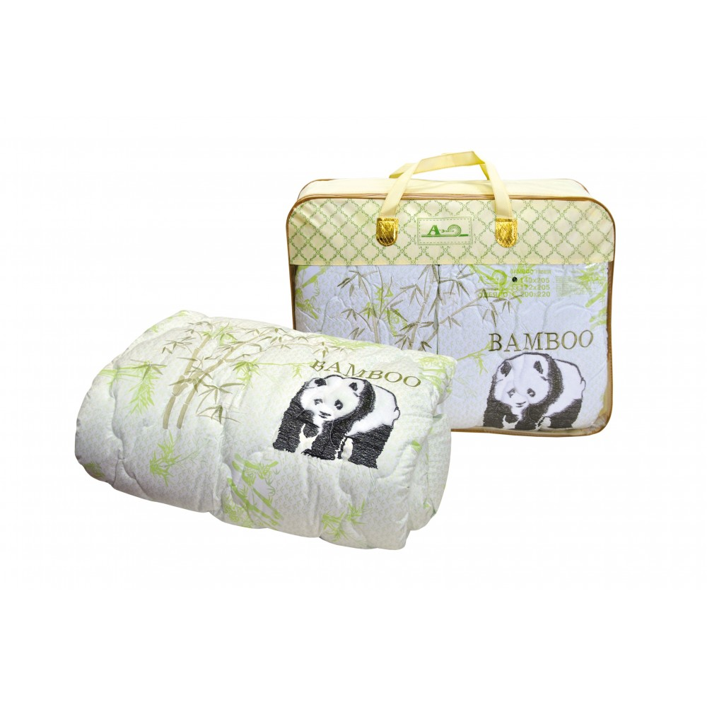 Одеяло бамбуковое Bamboo Fiber 200x220, 172x205, 140x205 Аэлита