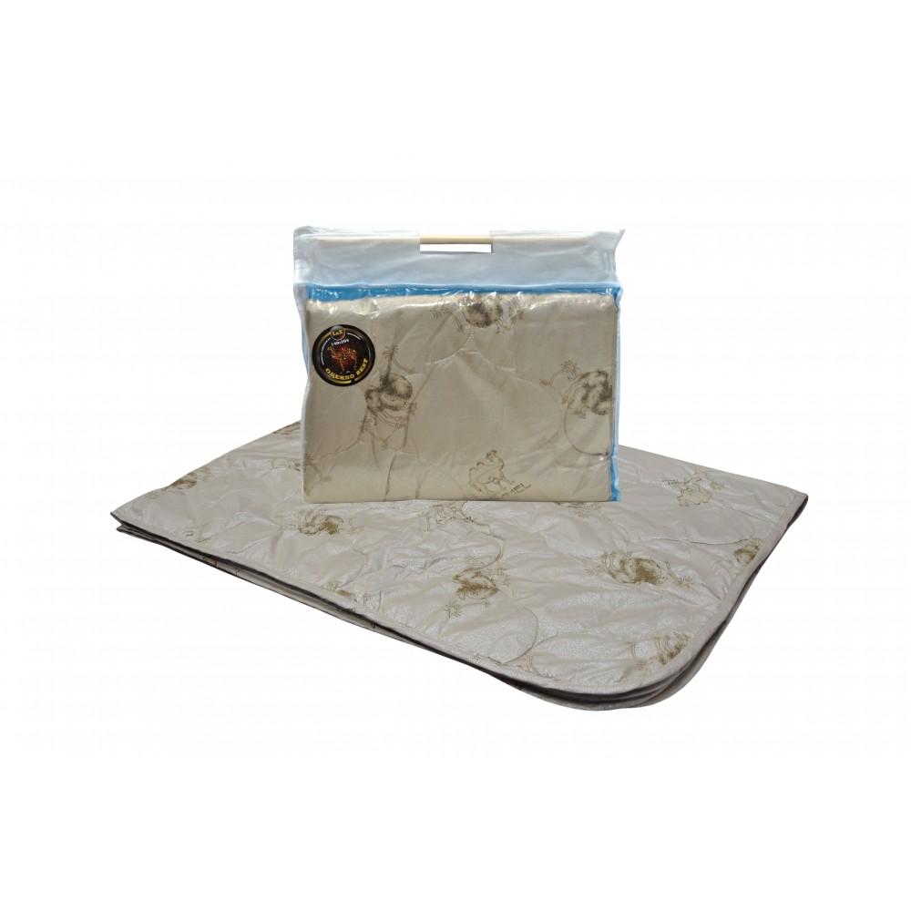 Одеяло из верблюжьей шерсти Люкс Бест 200x220, 172x205, 140x205 (силиконизированное волокно)