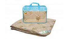 Одеяло из верблюжьей шерсти Бест 220x240, 200x220, 172x205, 140x205, 110x140 (силиконизированное волокно)