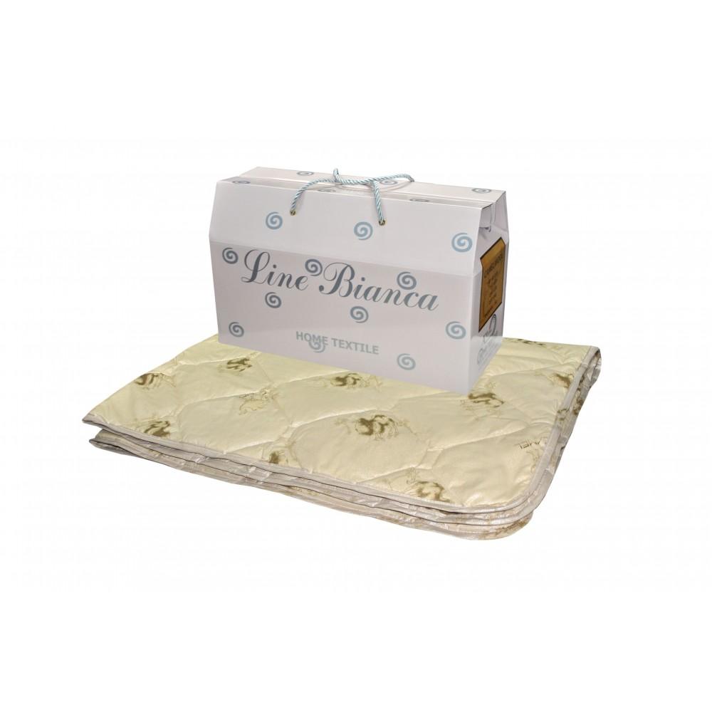 Одеяло из верблюжьей шерсти Бьянка 200x220, 172x205, 140x205 (силиконизированное волокно)