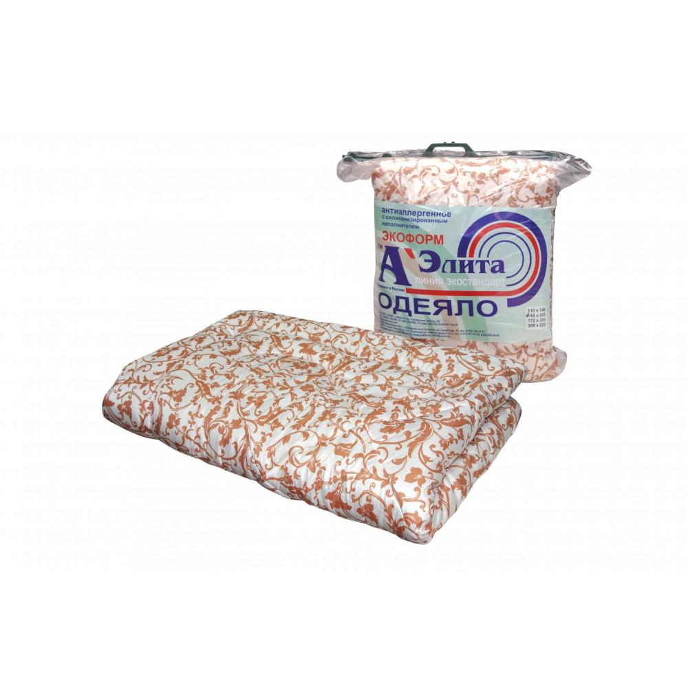 Одеяло Экоформ утолщенное (пакет с ручкой) 172x205, 140x205