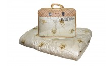 Одеяло из верблюжьей шерсти Этюд утолщенное 220x240, 200x220, 172x205, 140x205, 110x140 (силиконизированное волокно)