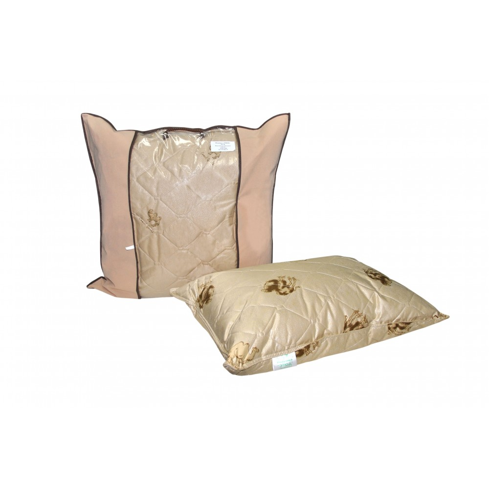 Подушка из верблюжьей шерсти 2-х камерная Этюд 50x70, 70x70