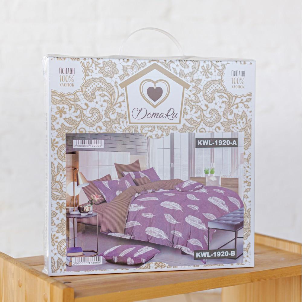 Бесшовное постельное белье DomaRu Поплин Люкс (1.5, 2 спальный, евро)