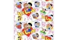 Комплект постельного белья КПБ Бязь Love Is (евро, семейный, 1.5, 2 спальный)
