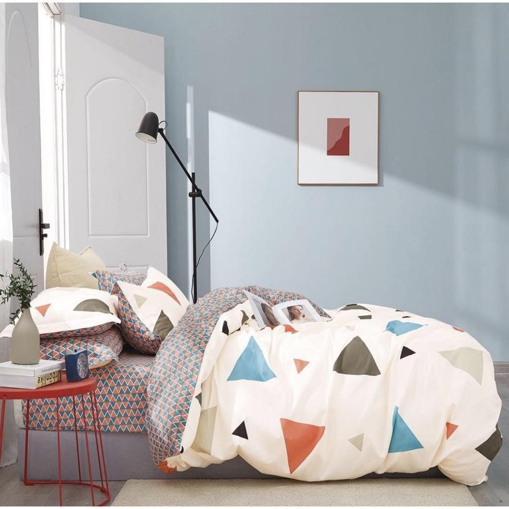 Комплект постельного белья Сатин 100% хлопок Геометрия