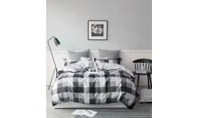 Комплект постельного белья Сатин 100% хлопок Графит