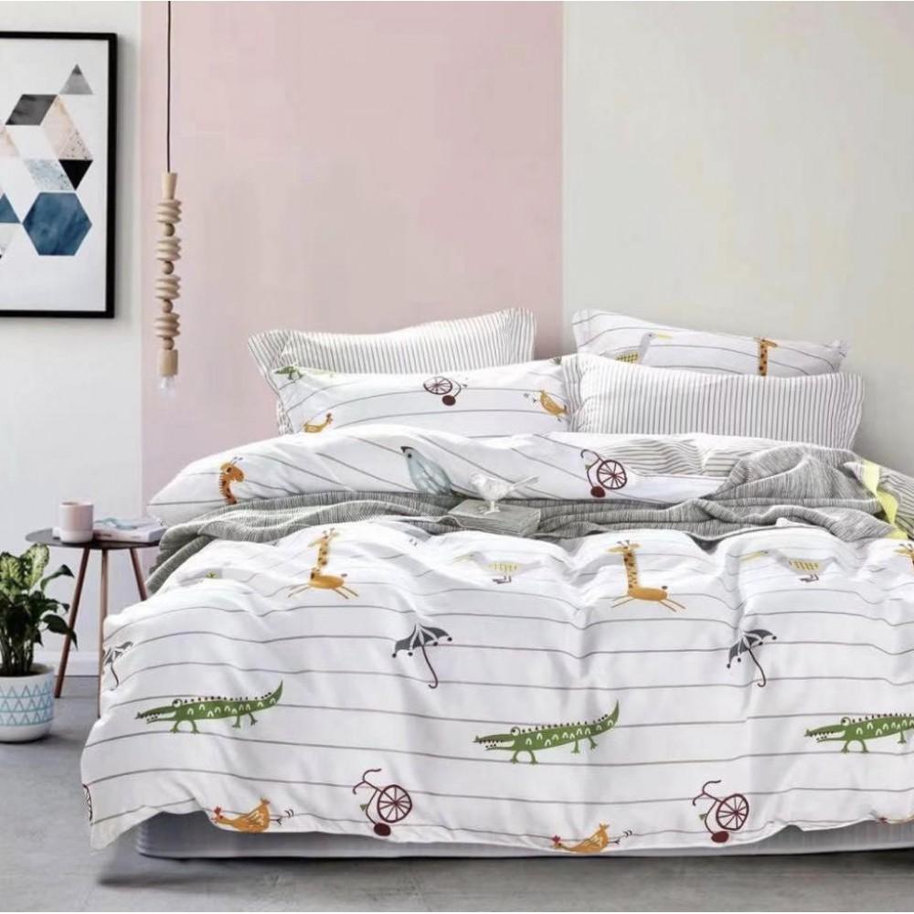 Комплект постельного белья Сатин Alanna Фауна