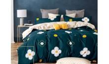 Комплект постельного белья Сатин на резинке Шарм