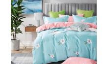 Комплект постельного белья Сатин на резинке Фантазия
