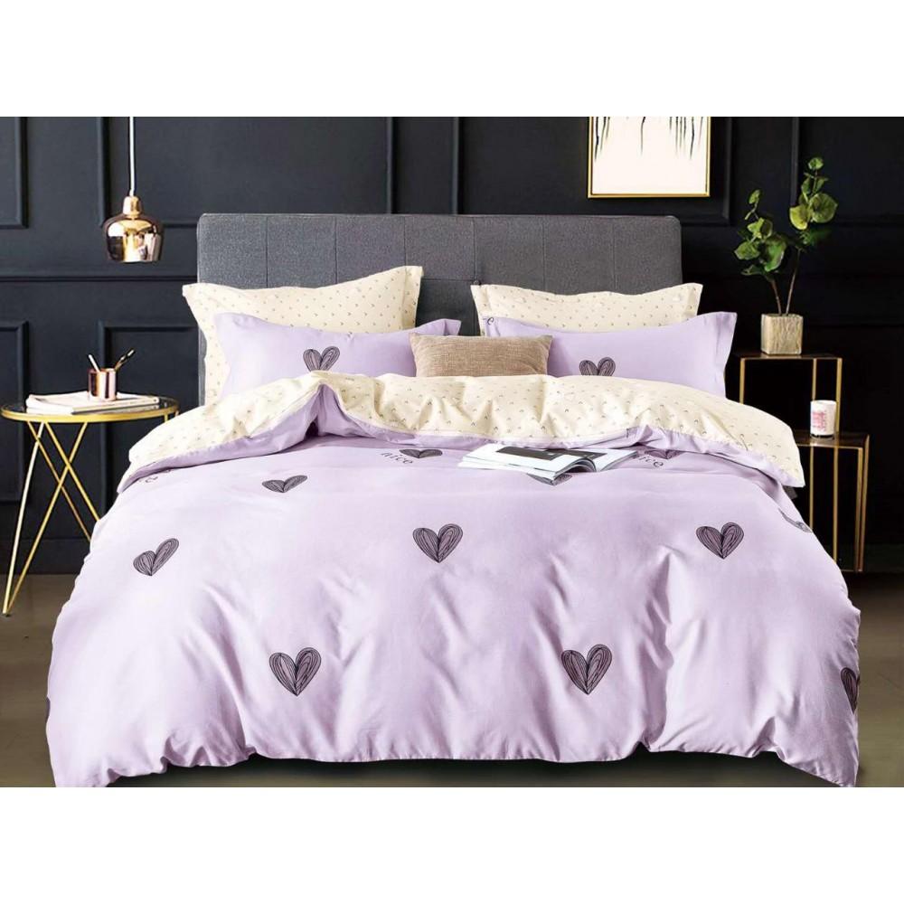 Комплект постельного белья Сатин на резинке Нежность
