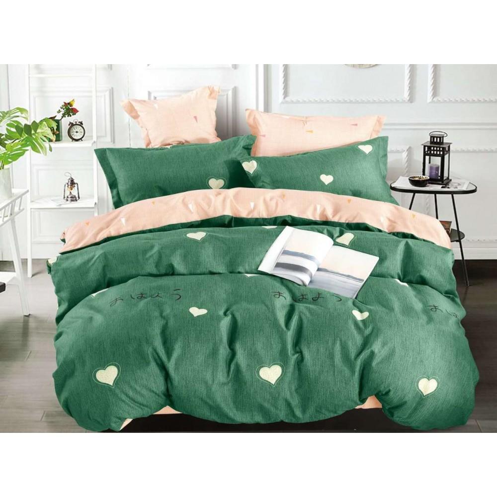 Комплект постельного белья Сатин на резинке Романтик
