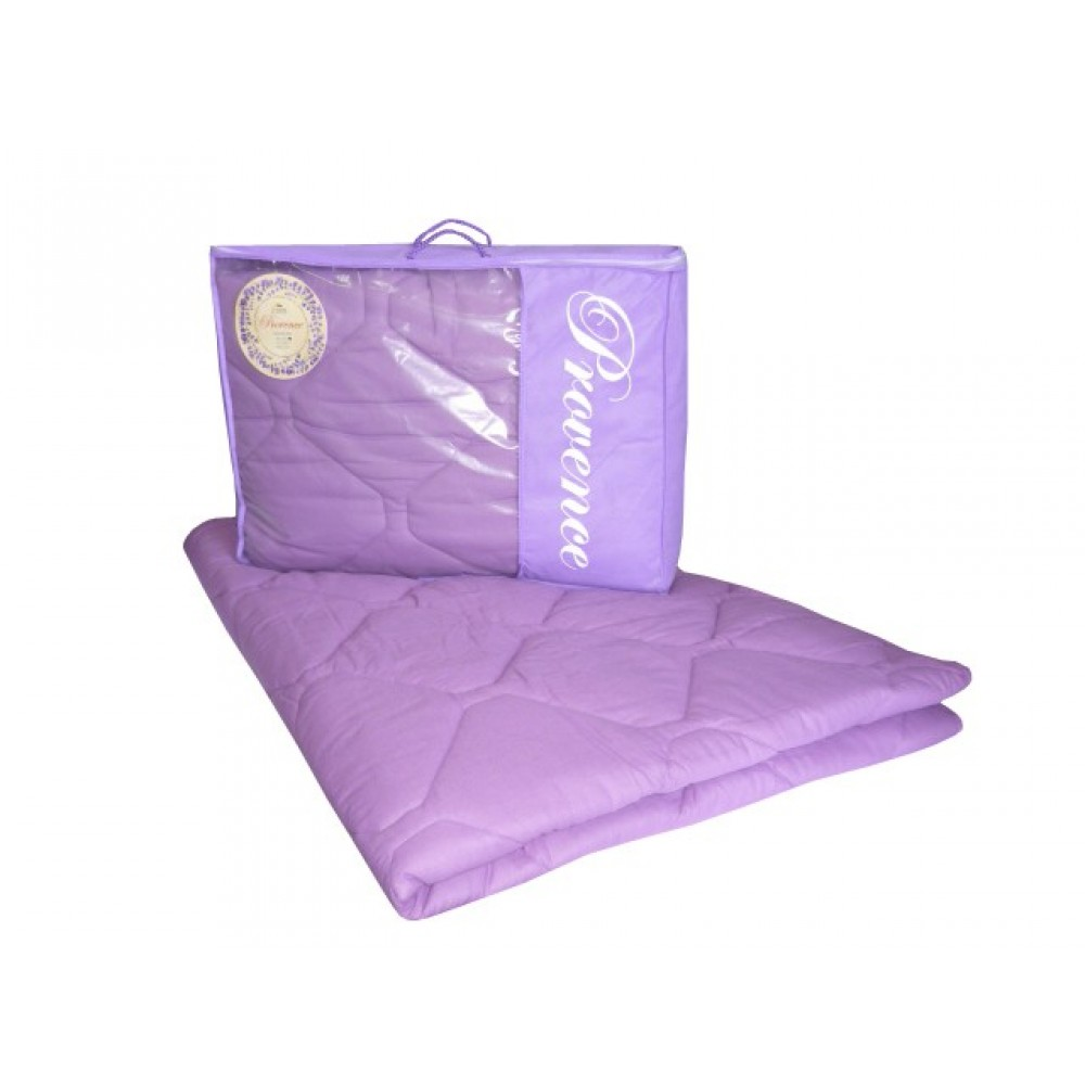 Одеяло пуховое Provence Лаванда 200x220, 172x205, 140x205 (высокосиликонизированное волокно)