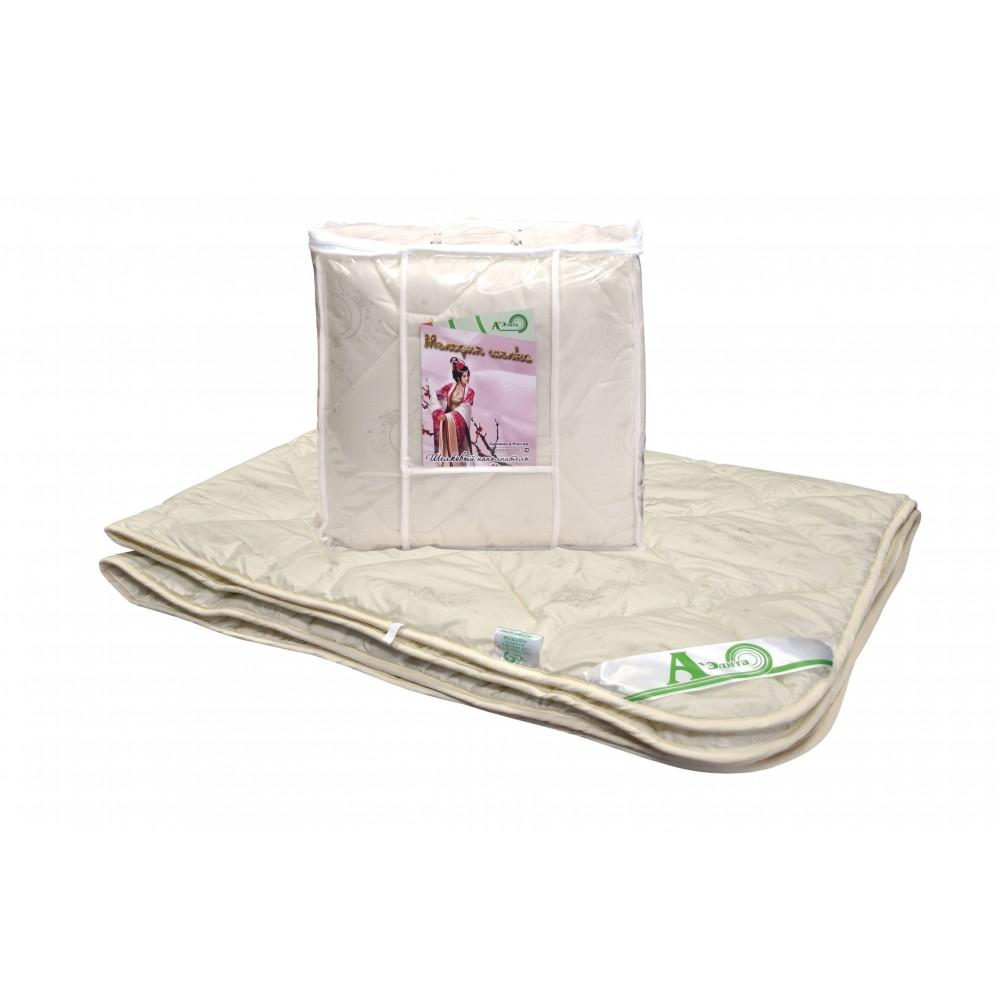 Одеяло шелковое Мелодия шелка 200x220, 172x205, 140x205 (силиконизированное волокно)