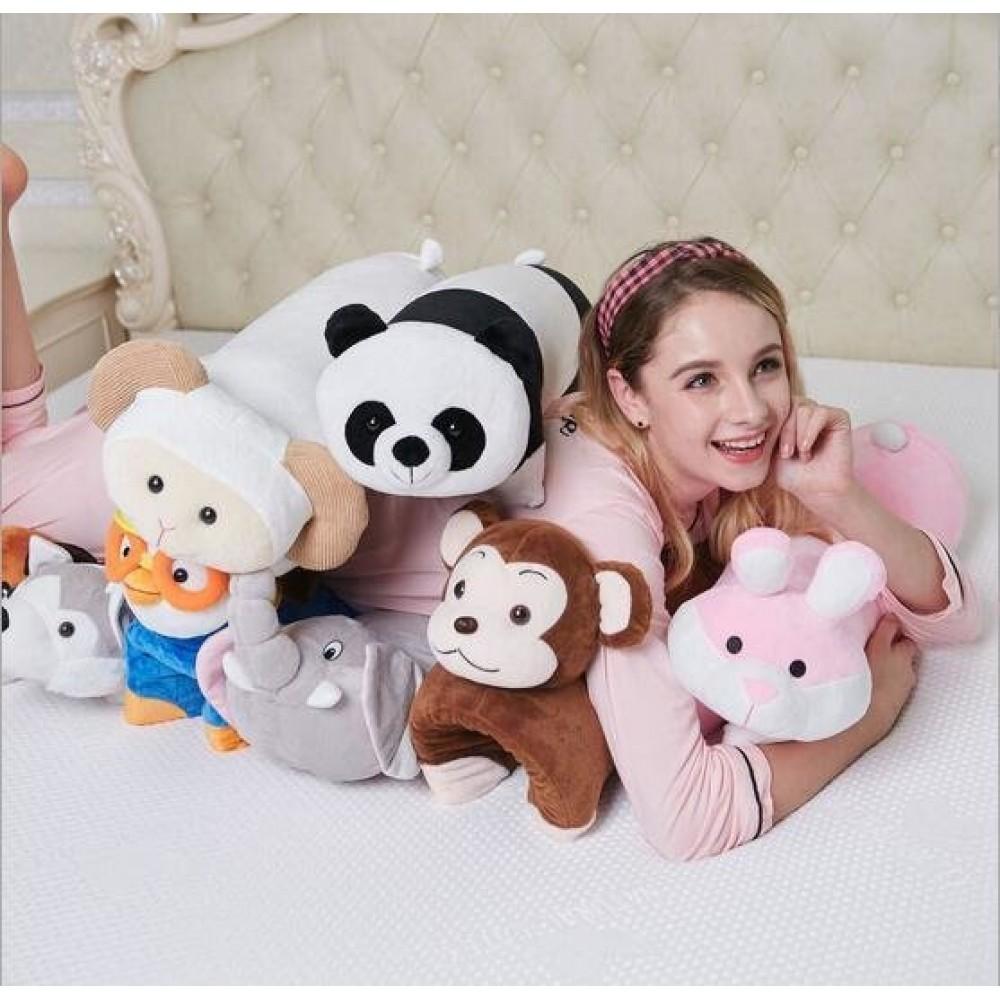 Многофункциональная подушка игрушка из латекса детская