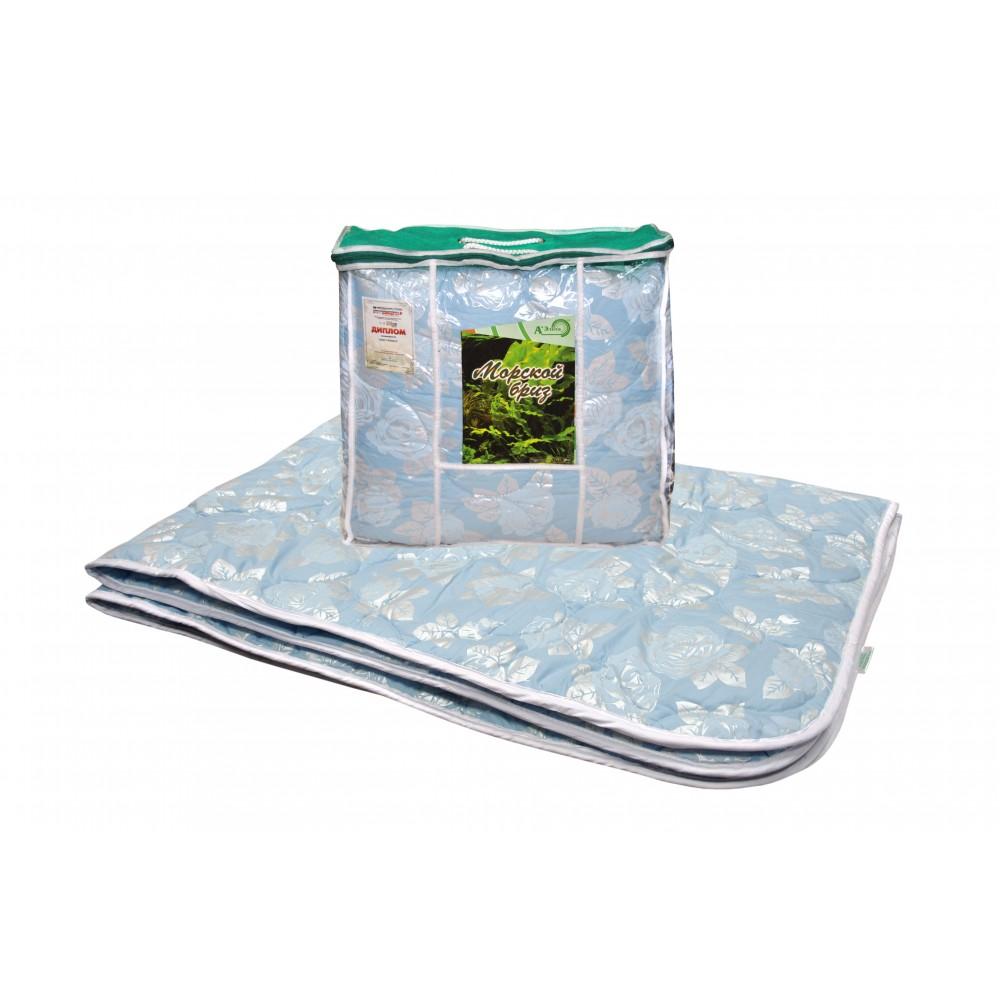 Одеяло морские водоросли Морской бриз 200x220, 172x205, 140x205 (силиконизированное волокно)