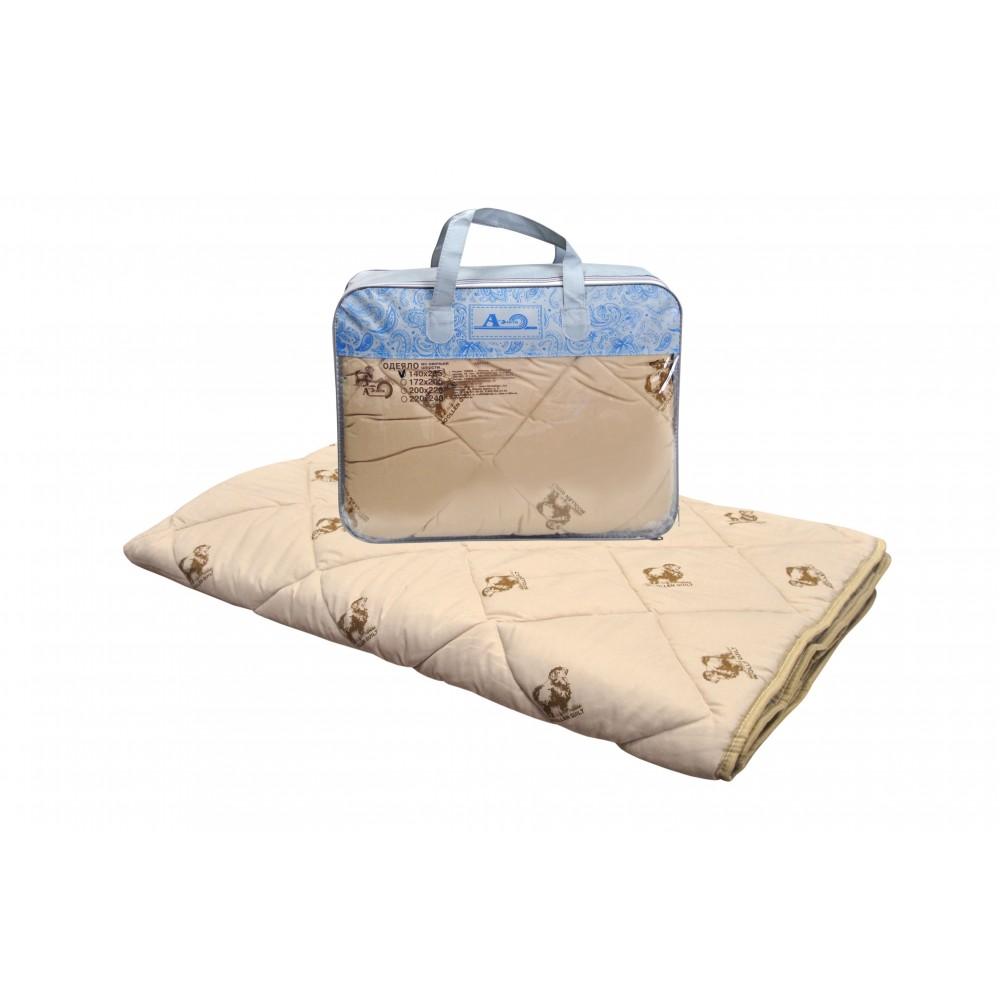 Одеяло из овечьей шерсти Норма 200x220, 172x205, 140x205 (силиконизированное волокно)
