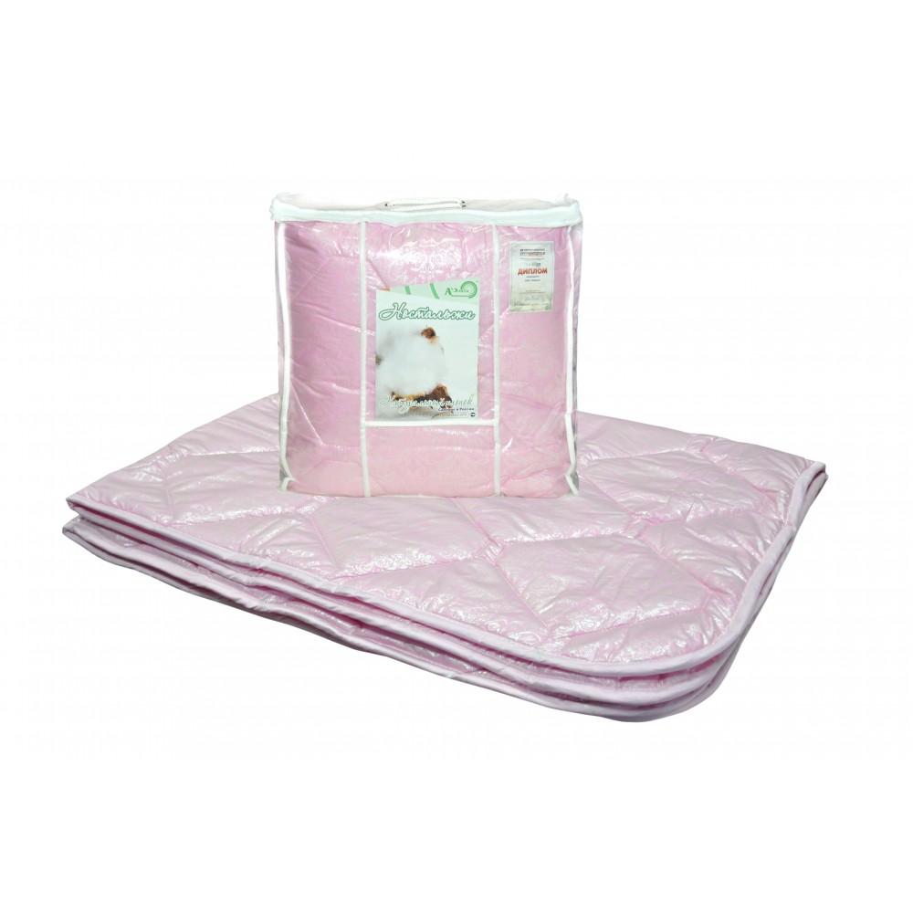 Одеяло хлопок Ностальжи 200x220, 172x205, 140x205 (силиконизированное волокно)