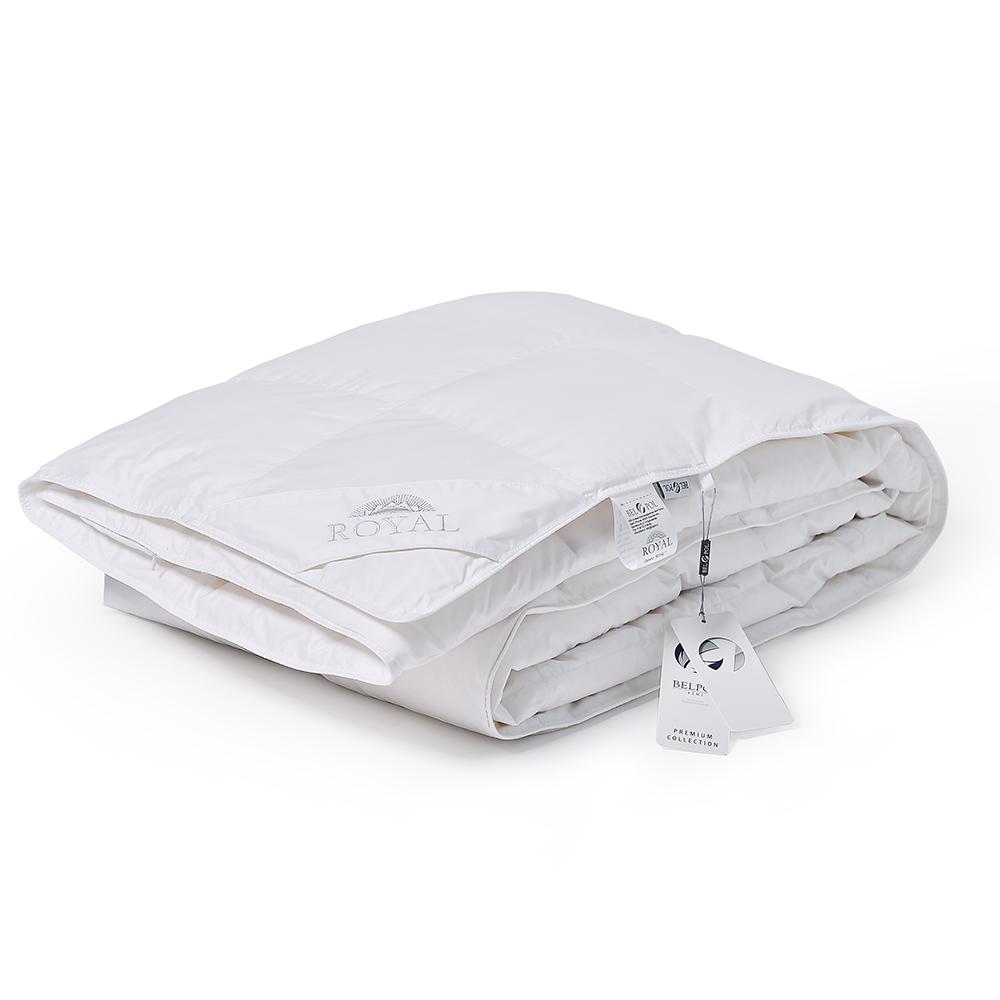 Одеяло пуховое кассетное ROYAL 172x205 пух арктического гуся