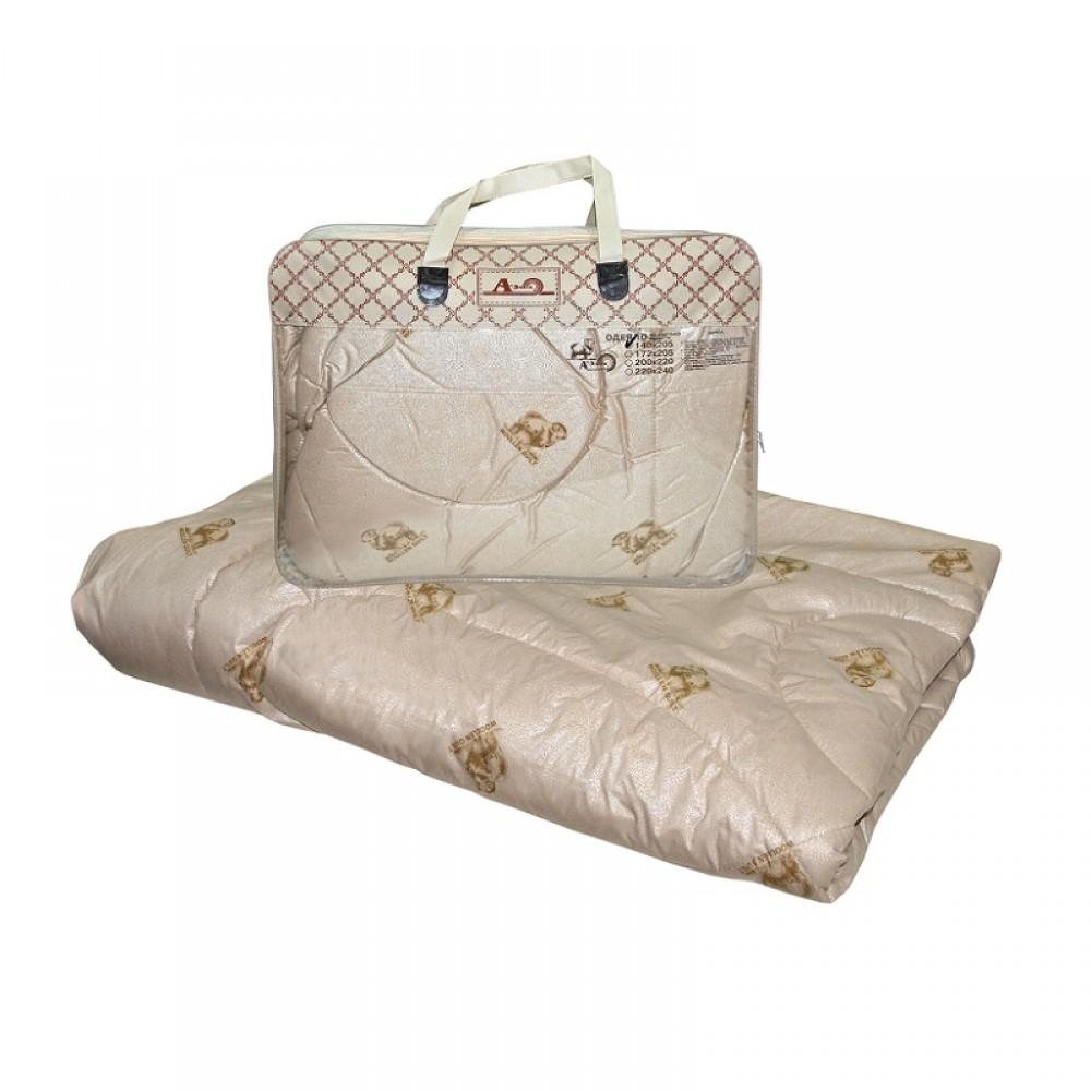 Одеяло из овечьей шерсти Этюд утолщенное 220x240, 200x220, 172x205, 140x205, 110x140 (силиконизированное волокно)