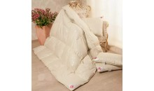 Одеяло пуховое Камелия 140x205 теплое гусиный пух