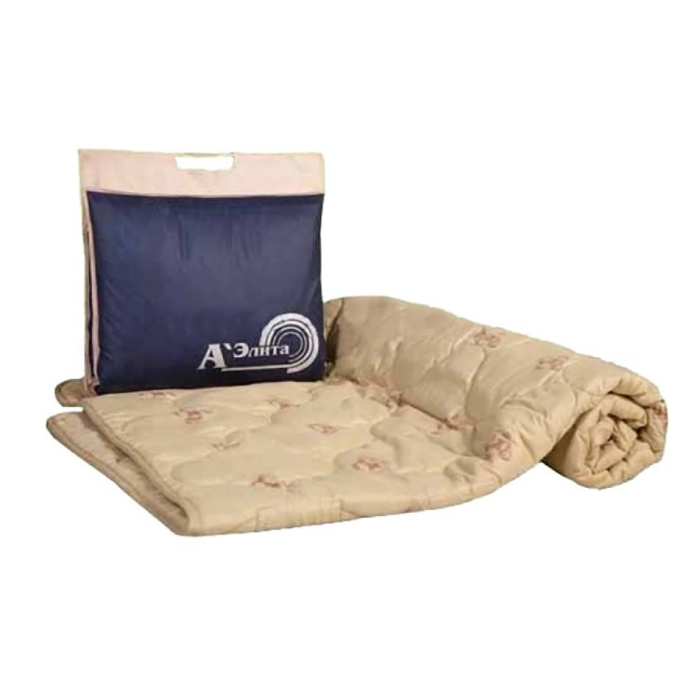 Одеяло из овечьей шерсти Люкс 200x220, 172x205, 140x205, 110x140 (силиконизированное волокно)