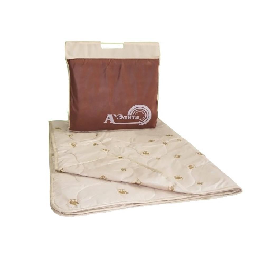 Одеяло из верблюжьей шерсти Люкс 200x220, 172x205, 140x205 (силиконизированное волокно)