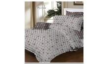 Одеяло-покрывало DomaRu поплин 100% хлопок (силиконизированное волокно)