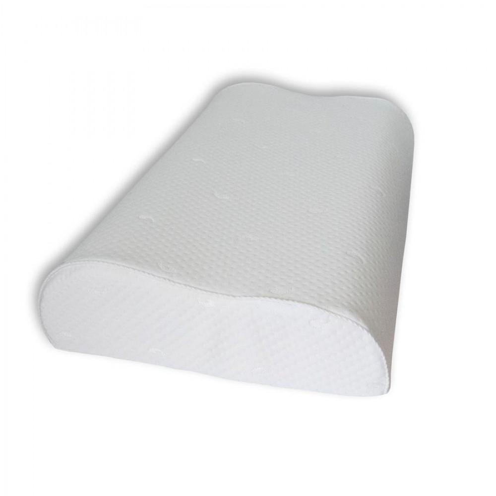 Подушка с эффектом памяти Эргономика с ионами серебра