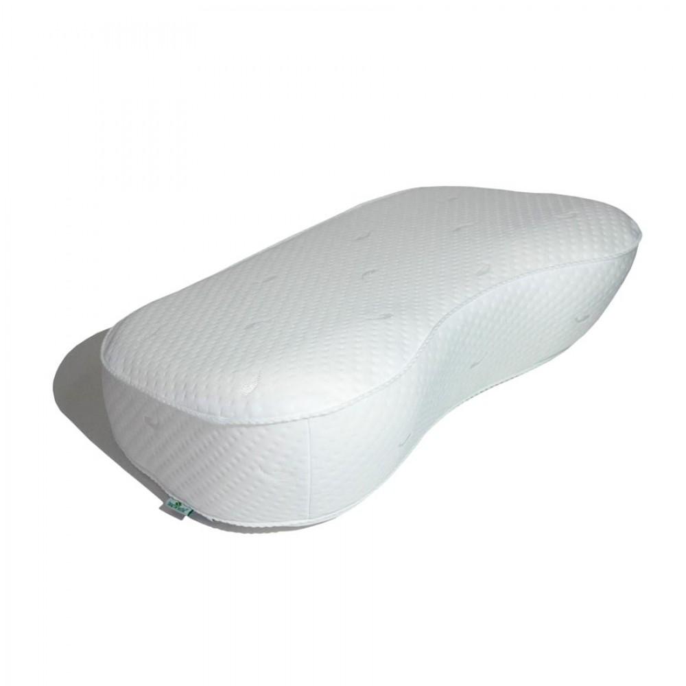 Подушка с эффектом памяти Ортопедика-Лайт с ионами серебра
