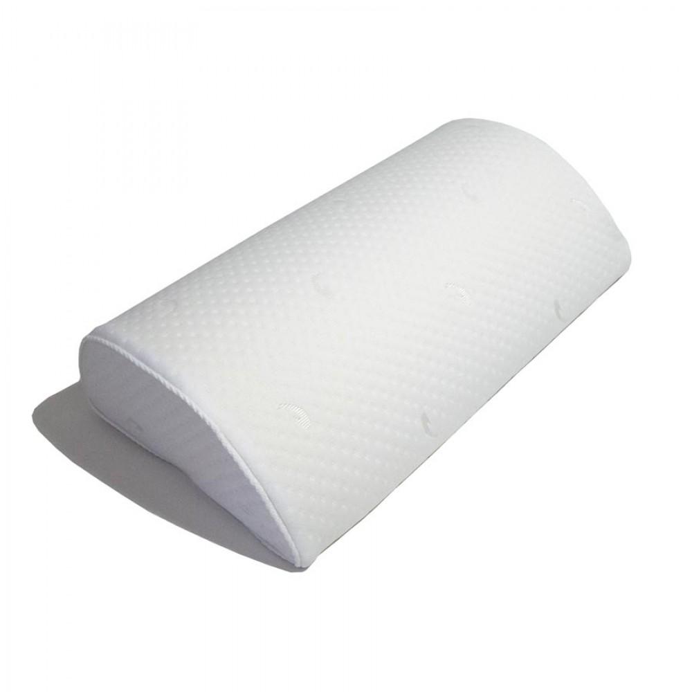 Подушка-полувалик с эффектом памяти Формула здоровья с ионами серебра