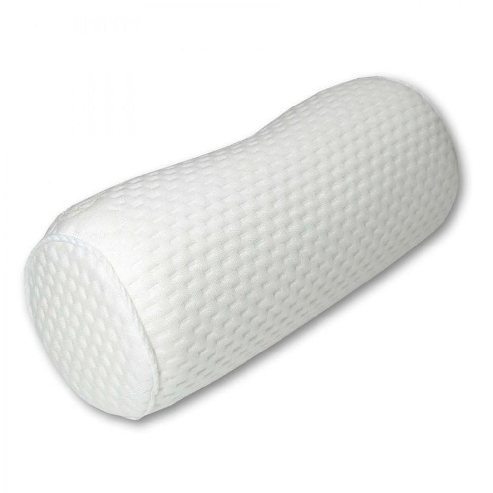 Подушка-валик с эффектом памяти Эйфория с ионами серебра 27x11