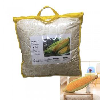 Подушка из волокна Кукуруза лебяжий пух 50x70, 70x70