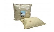 Подушка из овечьей шерсти 2-х камерная Романтика 50x70, 70x70