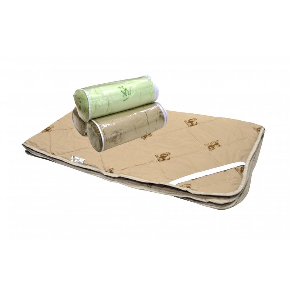 Наматрасник «Шерсть», импортная (синтетическая) ткань, тубус