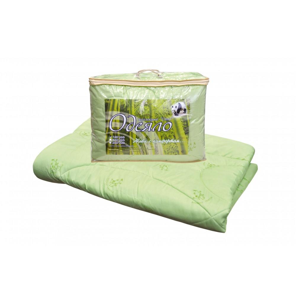 Одеяло бамбуковое Соло утолщенное 172x205, 200x220, 140x205