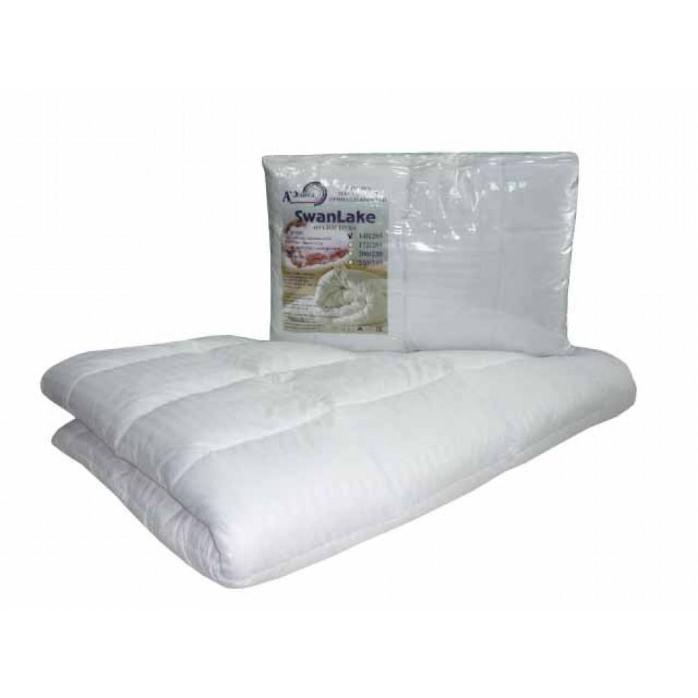 Одеяло лебяжий пух Swan Lake (искусственное микроволокно) 140x205, 172x205, 200x220