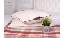 Подушка «Кедровая» с плёнкой кедрового ореха 40x60