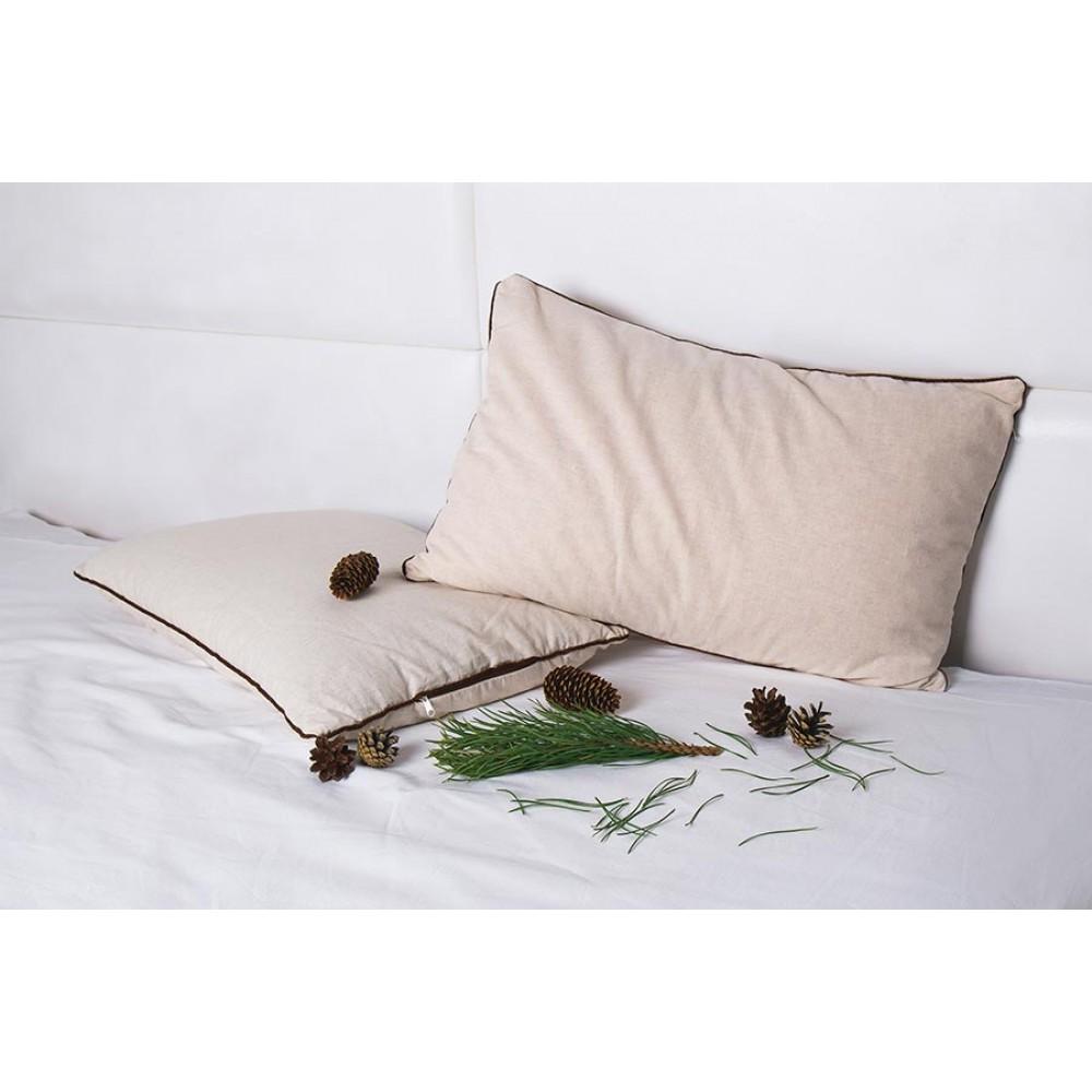 Подушка Кедровый сон 40x60 со стружкой сибирского кедра