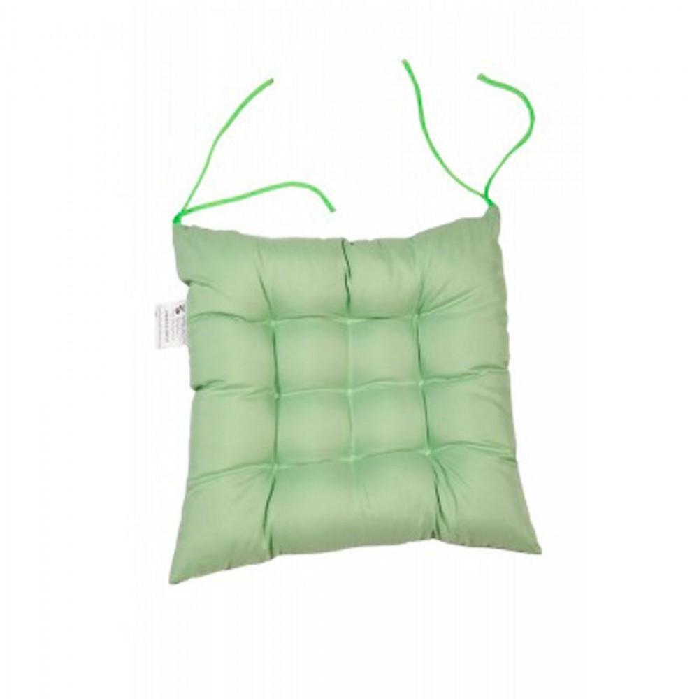Подушка на сиденье «Комфорт» с завязками 40х40