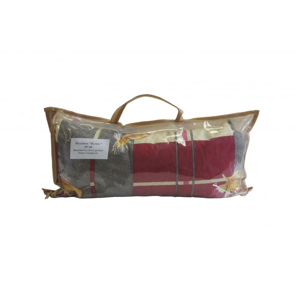 Подушка декоративная Валик лузга гречихи