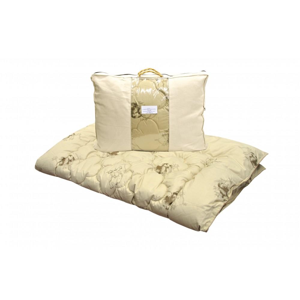 Одеяло из верблюжьей шерсти Camel Collection утолщенное 240x220, 200x220, 172x205, 140x205, 110x140 (силиконизированное волокно)
