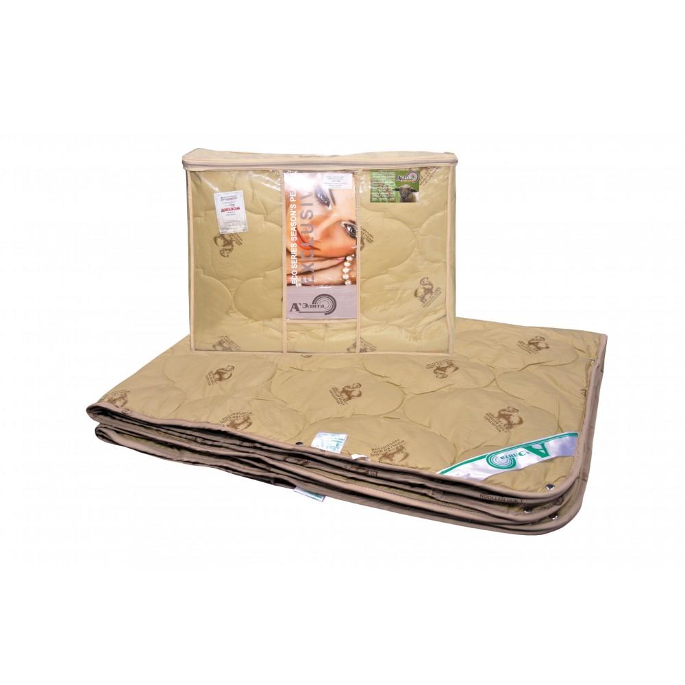 Одеяло из овечьей шерсти Золотое Руно 200x220, 172x205, 140x205 (комбинация двух одеял)